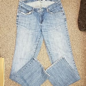 Maurice's Orchid boot jeans